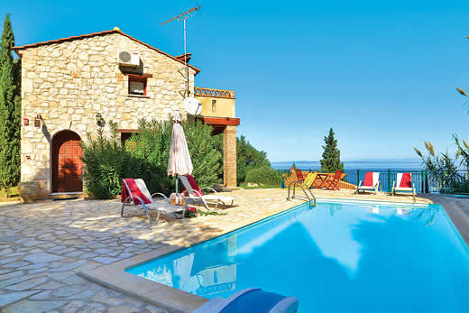 £401.00 for Zakynthos self catering holiday