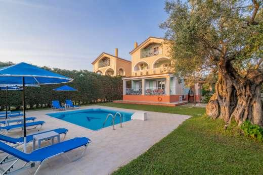 Enjoy a great self catering holiday in  Zakynthos