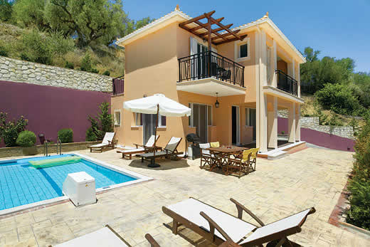 Holiday villa offer for Zakynthos with swimming pool