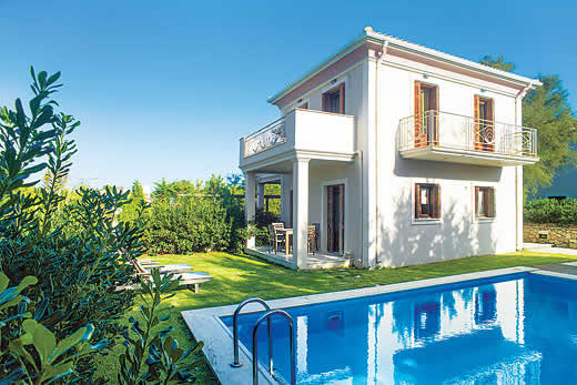 £1238.00 for Lefkas self catering holiday