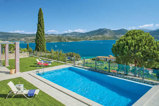 £3322.00 for Lefkas self catering holiday
