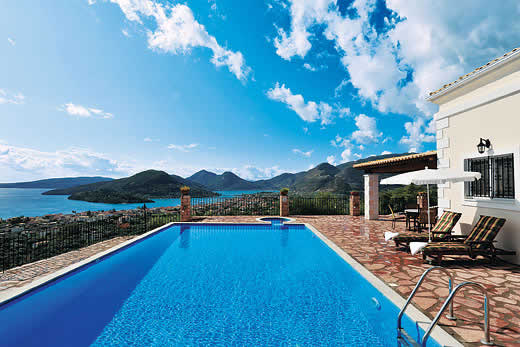 £433.00 for Lefkas self catering holiday