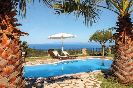 £1054.00 for Lefkas self catering holiday