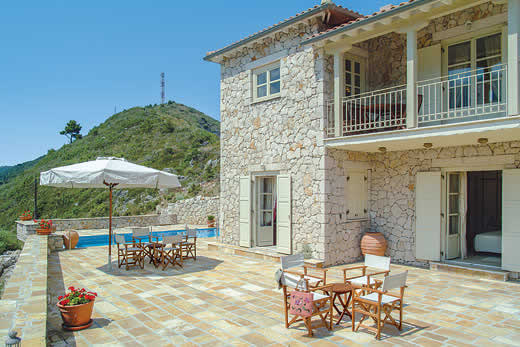 £518.00 for Lefkas self catering holiday