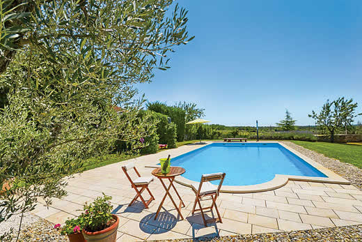£1204.00 for Istria self catering holiday villa