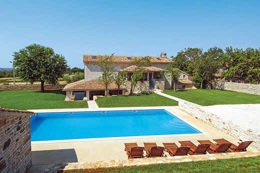 £1136.00 for Istria self catering holiday villa