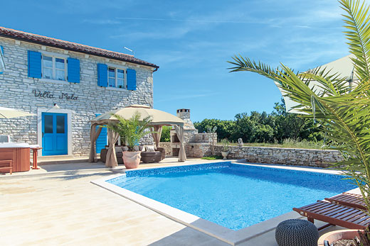 Holiday villa deal for Istria with private swimming pool