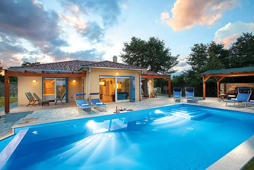 Holiday villa offer for Istria with swimming pool