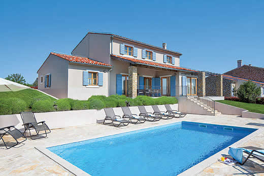 Istria a great place to enjoy a self catering holiday villa