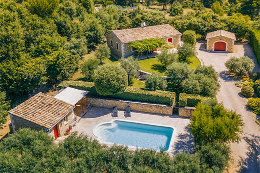 £1118.00 for Provence self catering holiday