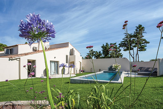 Holiday photo of La Pinede villa