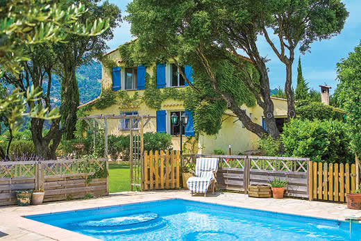 £2758.00 for Cote d`Azur self catering holiday
