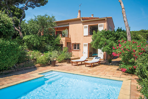 £1870.00 for Cote d`Azur self catering holiday villa