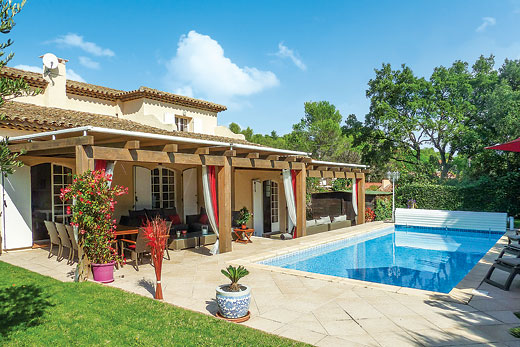 £3353.00 for Cote d`Azur self catering holiday
