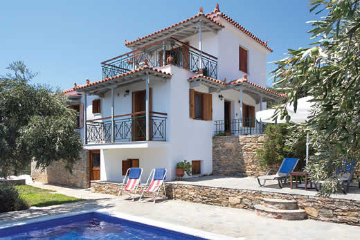 Skopelos a great place to enjoy a self catering holiday