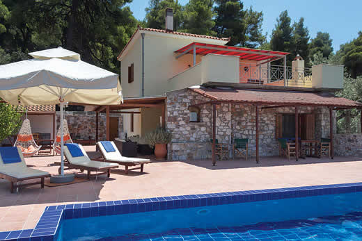 £401.00 for Skopelos self catering holiday