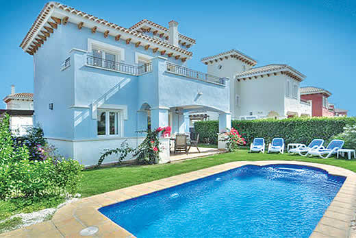 £791.00 for Costa Calida self catering holiday