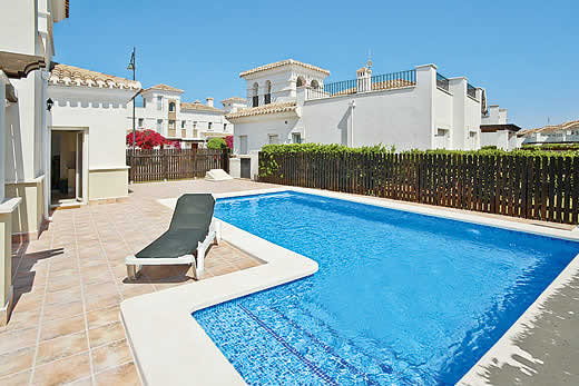 £735.00 for Costa Calida self catering holiday