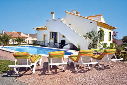 £623.00 for Costa Calida self catering holiday
