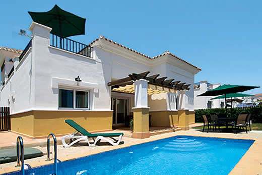 £728.00 for Costa Calida self catering holiday