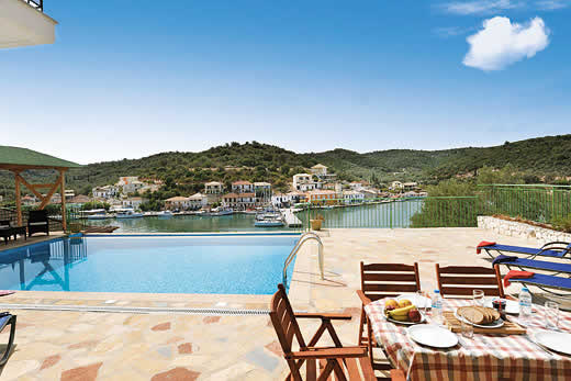 £634.00 for Meganissi self catering holiday