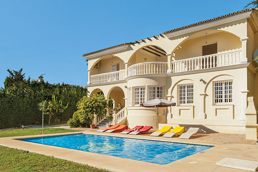 £338.00 for Costa del Sol self catering holiday villa