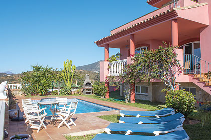 £969.00 for Costa del Sol self catering holiday villa