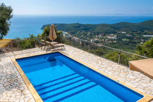 Enjoy a great self catering holiday in  Parga