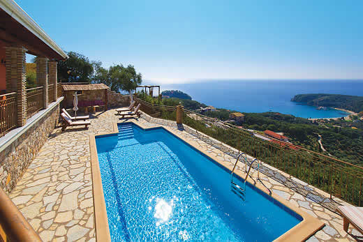 Parga a great place to enjoy a self catering holiday