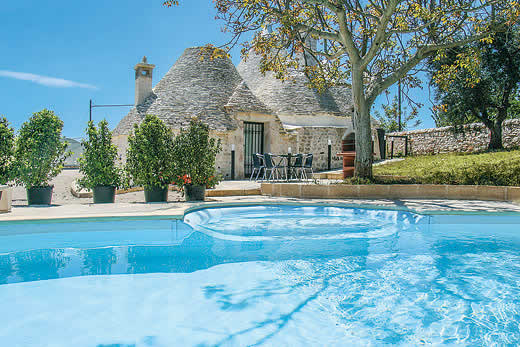 £1283.00 for Puglia self catering holiday