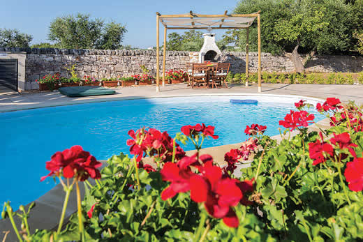 Enjoy a great self catering holiday villa in Puglia