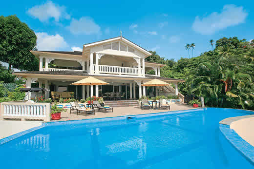 Holiday photo of Marigot Bay View villa