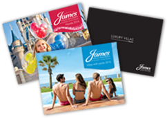 James Villas brochures