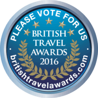 Vote for us at the British Travel Awards